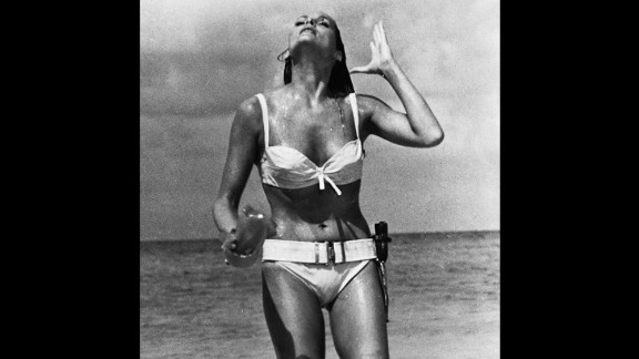 Ursula Andress played Honey Ryder opposite Sean Connery