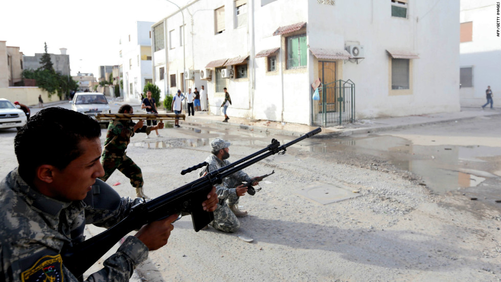 Militias battle in tripoli cnn new clashes in libya publicscrutiny Images