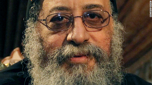 Bishop Tawadros, 60, was named the new Coptic Christian pope in a ceremony in Cairo on November 4, 2012.