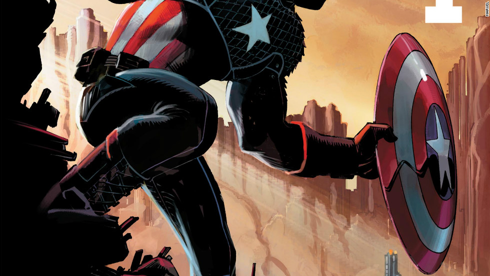 "November's first issue of ""Captain America"" is a Cap unlike any seen before, with the possible exception of his adventures in the 1980s mini-series ""Secret Wars.""  Writer Rick Remender compares this book with a science-fiction bent to that classic story. Cap, shield in tow, explores new worlds starting with the first issue November 21."