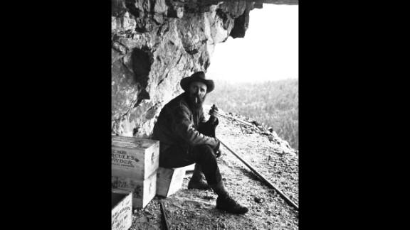 Korczak Ziolkowski is the original sculptor of the Crazy Horse carving, located in Black Hills, South Dakota. He began work in 1948, but died in 1982.