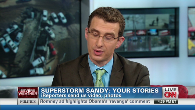 CNN iReport Sandy special: Part 2