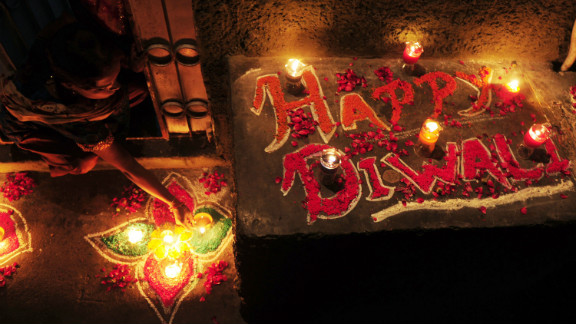 Diwali is a five-day Hindu festival, known as the Festival of Lights. It is a contraction of the word Deepavali, which means row of lights in Sanskrit.