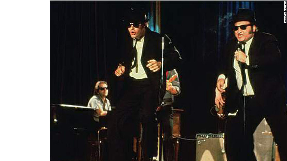 """The Blues Brothers,"" a 1980 musical comedy starring John Belushi and Dan Aykroyd, is about making music for a good cause."