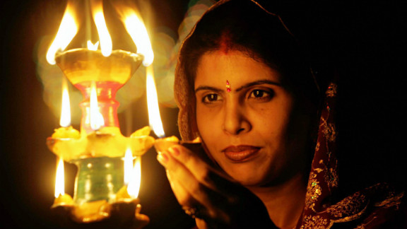 According to Hindu mythology, everyone lit oil lamps along the road to welcome Lord Rama home. Diwali has come to symbolize the triumph of good over evil, light over darkness and even the illumination of the soul and attainment of higher knowledge.