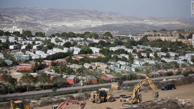 ARIEL,ARIEL, WEST BANK - SEPTEMBER 27: Bulldozers begin constructing a new neighborhood on September 27, 2010 in the Jewish settlement of Ariel, in the West Bank. Work also to resume reportedly in the West Bank settlements of Revava, Yakir and Kohav Hashahar, following the end of a settlement freeze. (Photo by Uriel Sinai/Getty Images) WEST BANK - SEPTEMBER 27: Bulldozers begin constructing a new neighborhood on September 27, 2010 in the Jewish settlement of Ariel, in the West Bank. Work also to resume reportedly in the West Bank settlements of Revava, Yakir and Kohav Hashahar, following the end of a settlement freeze. (Photo by Uriel Sinai/Getty Images)