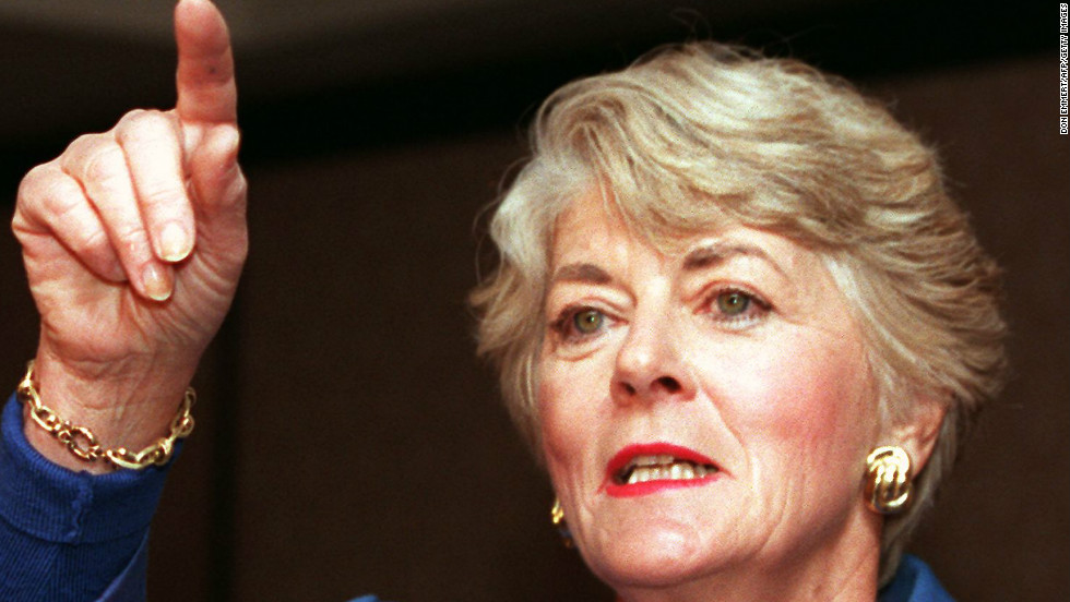Geraldine Ferraro became the first female vice presidential candidate representing a major American political party.