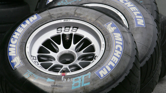Toyota used Michelin rubber and, after further investigation into the tire failure, Michelin advised the seven teams who used their tires -- Renault, McLaren, Williams, Toyota, BAR, Sauber and Red Bull -- not to race.
