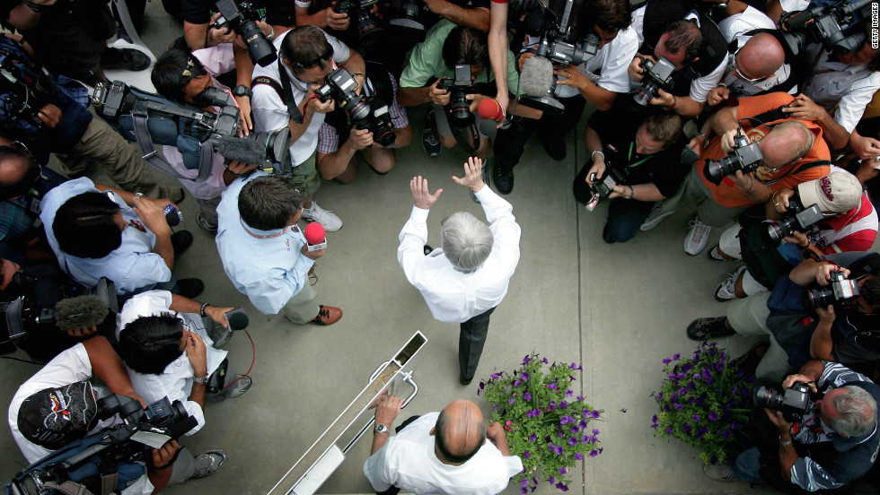 When the contract for the U.S. GP expired at the end of 2007, F1 supremo Bernie Ecclestone chose not to renew his deal with Indianapolis for the following season.