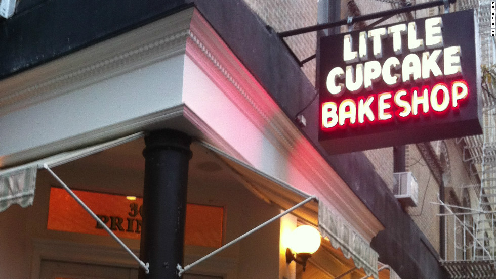Even Superstorm Sandy couldn't keep New Yorkers from their beloved cupcakes.