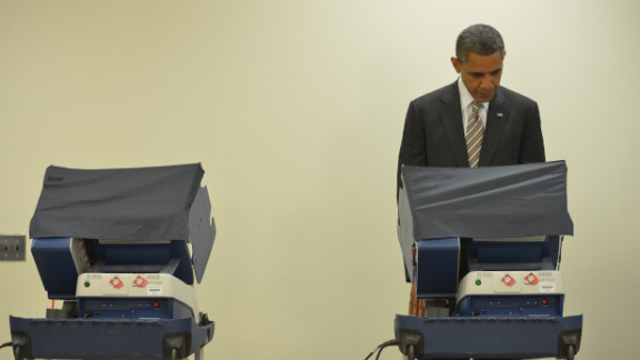 Voting early   October 25, 2012