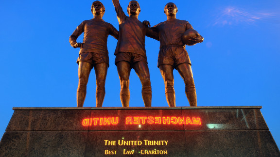 The Alex Ferguson sculpture is the third Manchester United piece Jackson has produced. His statue of George Best, Denis Law and Bobby Charlton, which stands outside Old Trafford, depicts three of the club