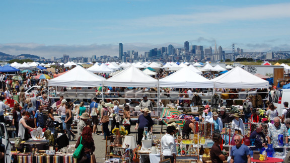 Alamedapointantiquesfaire.com; first Sunday of each month; 6 a.m.-3 p.m. Admission $15 before 7:30 a.m., $10 from 7:30 to 9 a.m., $5 from 9 a.m.-2 p.m.; free parking.
