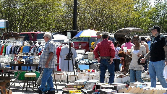 Raleighfleamarket.net, every Saturday and Sunday from 9 a.m.-6 p.m. year-round. Free admission and parking.
