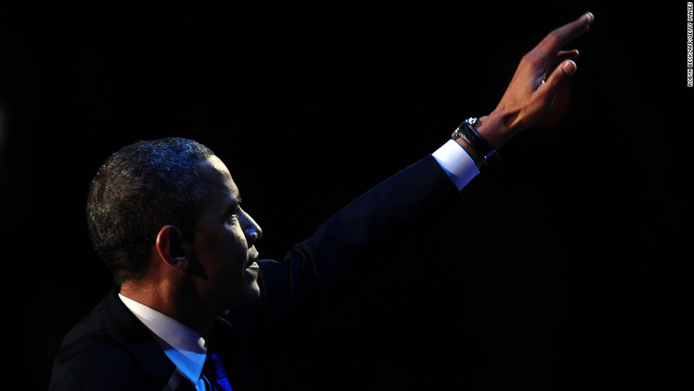 President Barack Obama rode a wave of broad support from minorities, women and moderates to win re-election.