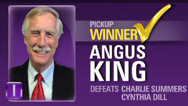 Senator-elect Angus King on his role