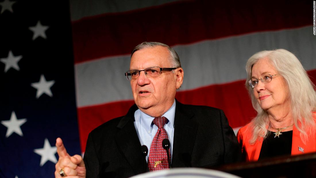 Joe Arpaio announces bid for sheriff reelection one year after Trump pardon