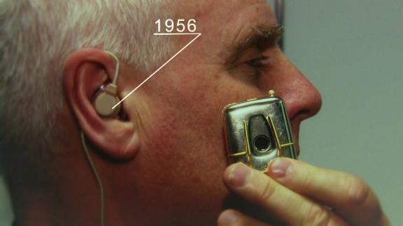 Half a century ago, hearing aids weren't quite so discreet.