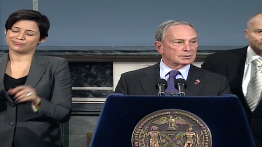 Bloomberg: Don't get cute over rationing New York Mayor Michael