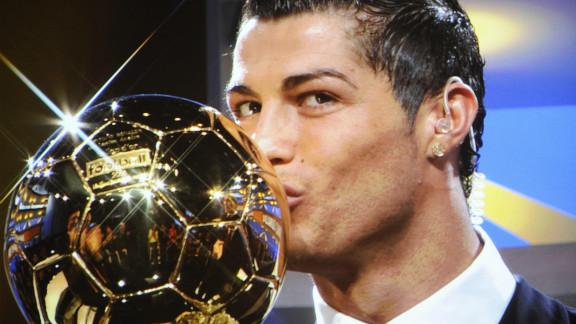 Ronaldo last won the Ballon d