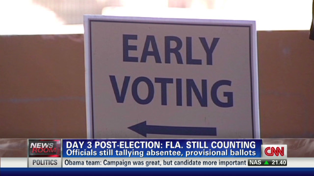 Florida voting under scrutiny