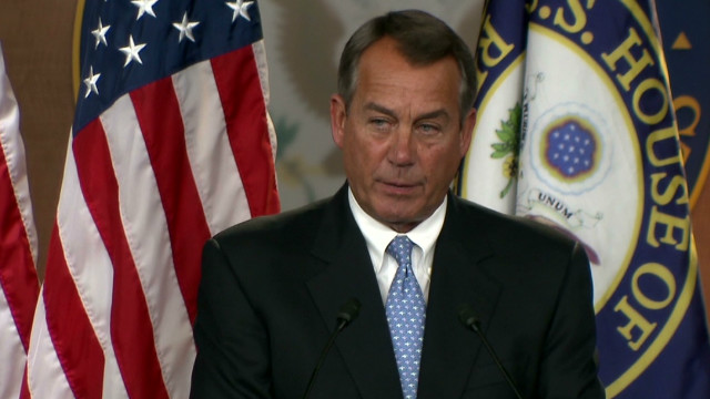 Boehner: U.S. can avoid financial cliff
