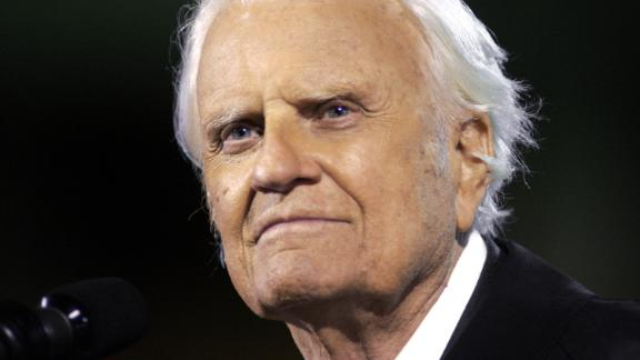 The Rev. Billy Graham reached tens of millions of people through his Christian rallies and developed a relationship with every U.S. president since Dwight Eisenhower. Here are some moments in his life as an evangelical preacher.