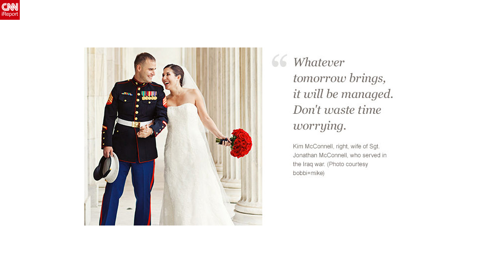 "<a href=""http://ireport.cnn.com/docs/DOC-873020"">Read Kim McConnell's tribute to her husband on iReport.</a>"