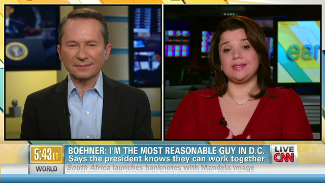 Boehner 'most reasonable' guy in D.C.?