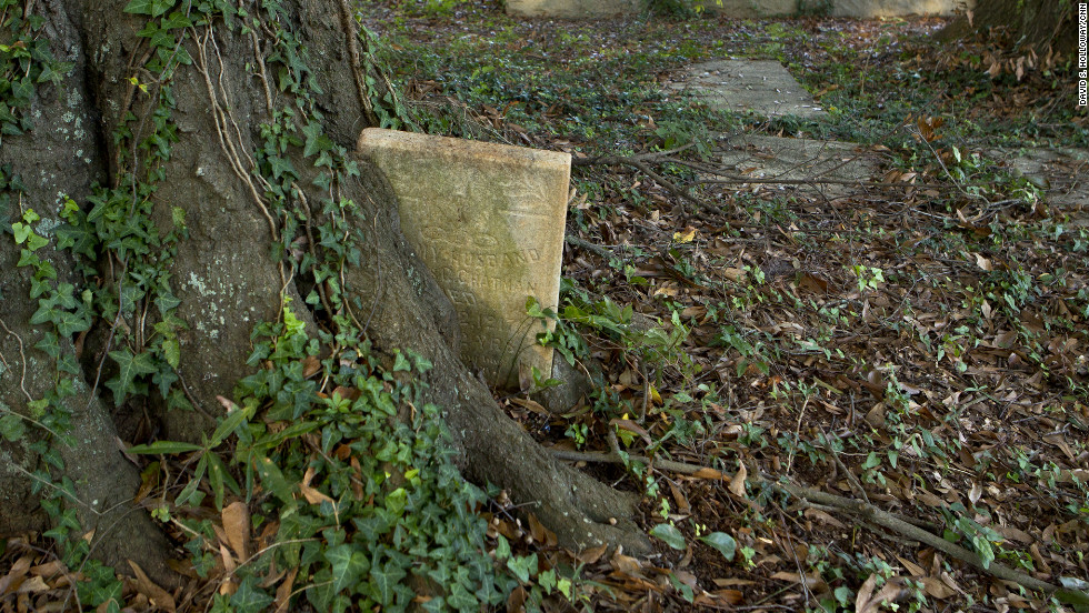 The nonprofit Macon Cemetery Preservation Corp., established a decade ago to care for the cemetery, faces mammoth challenges -- from groundskeeping to fund-raising.  With a $15,000 annual budget, it depends on volunteers who take part in monthly work parties. Those monthly cleanups have uncovered dozens of graves swallowed by vegetation.