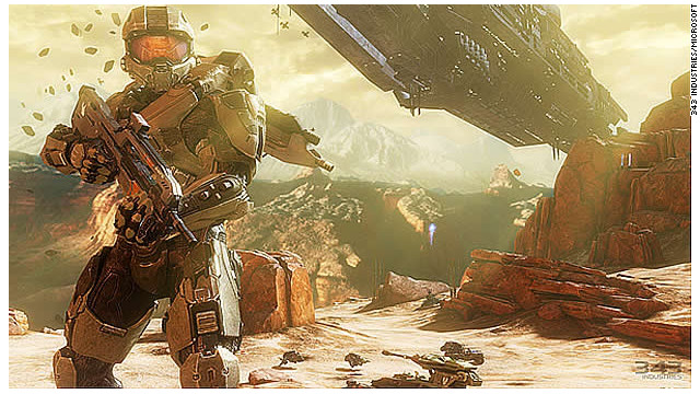 "Games in the ""Halo"" series, which include ""Halo 4,"" above, have sold more than 50 million copies, according to Microsoft."