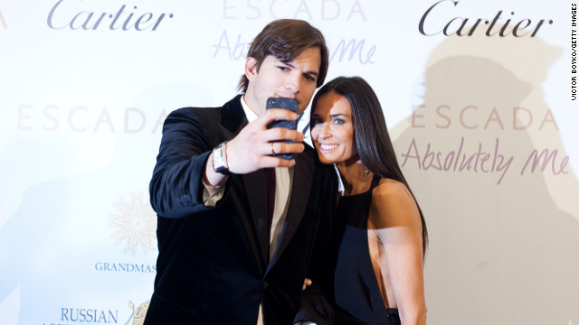 MOSCOW - OCTOBER 30: Ashton Kutcher and Demi Moore attend the Charity Gala at The Ritz-Carlton on October 30, 2010 in Moscow, Russia. Demi Moore and Ashton Kutcher were accessorized by Cartier, one of the sponsors of the charity gala.  (Photo by Victor Boyko/Getty Images)