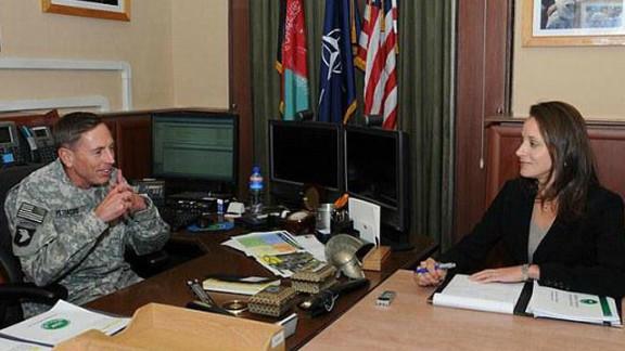 The media's treatment of Paula Broadwell, pictured with David Petraeus,  took on a nasty tone, says Howard Kurtz.