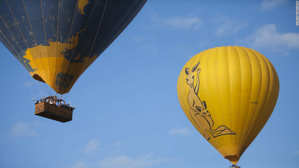 Viewers who want to get a closer look can take to the skies in a hot-air balloon ride over the Atherton Tablelands, located west of Cairns. Up to a dozen balloons will take off at sunrise and stay up during the eclipse.