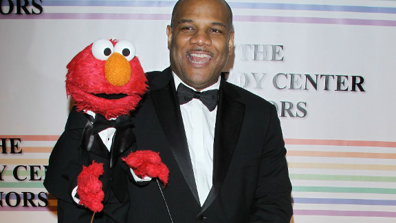 Kevin Clash, Elmo's puppeteer, attended the 34th Kennedy Center Honors program in 2011.