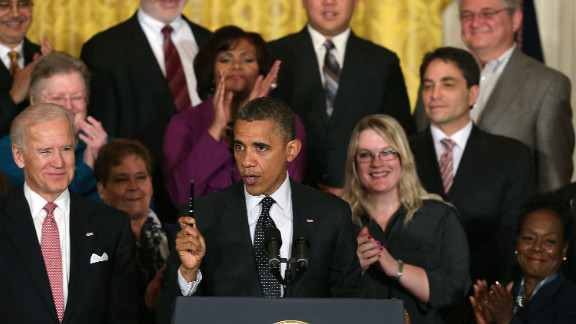 """President Barack Obama speaks to the media about the """"fiscal cliff"""" in the East Room of the White House on Friday."""