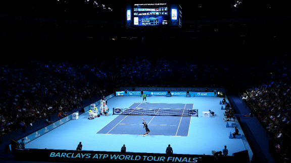 The setting and staging of the ATP World Tour Finals in London has won widespread praise from players and spectators.