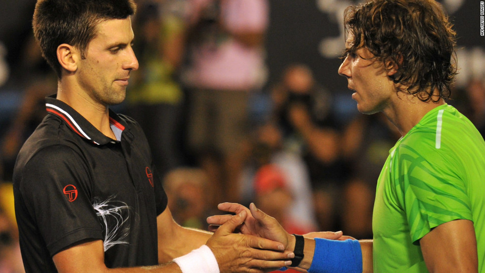 The 2012 tennis season began in earnest in January at the Australian Open. In the final, world No.1 Novak Djokovic and Spain's Rafael Nadal fought a titanic battle before the Serbian emerged on top after five marathon sets.