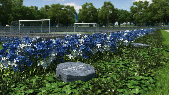 The cemetery will only have space for 1,904 graves -- reflecting the year of Schalke