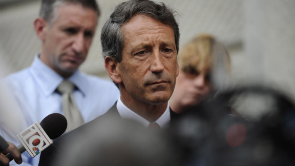 When then-South Carolina Gov. Mark Sanford went MIA for nearly a week in June of 2009, his staff told the public he was out hiking the Appalachian Trail. But when the Republican was spotted at Atlanta
