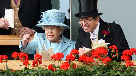 """""""The Queen is renowned for naming her horses sensible, cleverly constructed words,"""" says BBC commentator Lysaght."""