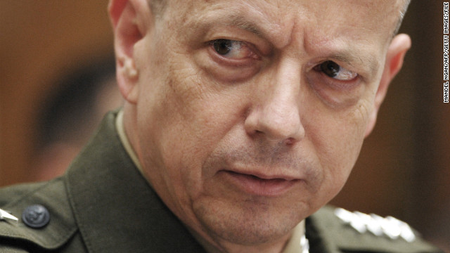 2012: Gen. Allen caught in Petraeus scandal