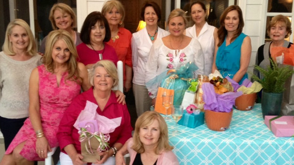 """The women of """"The Most Exclusive National Shopping Association"""" have met consistently for the past three years, but some of its members have been close for more than 50. Meet Nita Gilmore, Margaret Collins Jenkins, Margaret Wright, Ouida Muffuletto, Linda Duckworth, Sherry Downs, Gene Claire Belknap, Phyllis Smith, Betty Lynn Hammett, Linda Sellers, Boopie Beard and Susan Mason."""