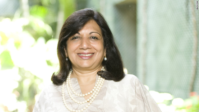 India's richest self-made woman