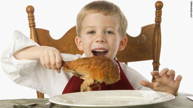 Wie sprechen Kinder über Thanksgiving, so dass Sie es auch wirklich
