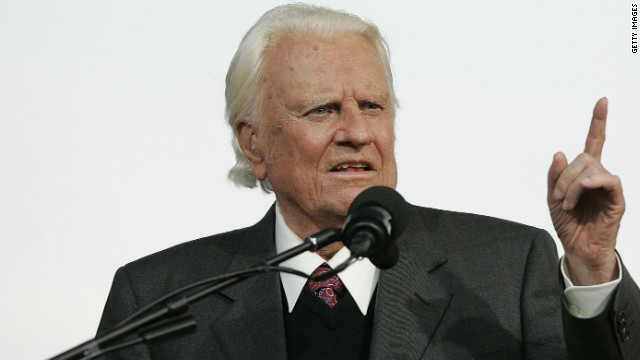 Billy Graham unafraid of death (2005)