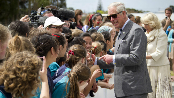 File photo of Britain's Prince Charles.