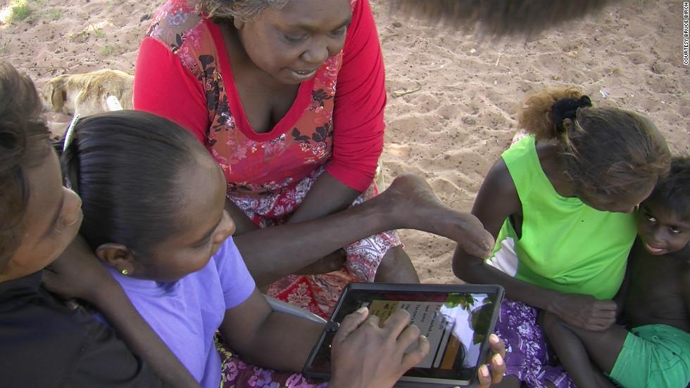 Last words? Phone app bids to save dying aboriginal language - CNN