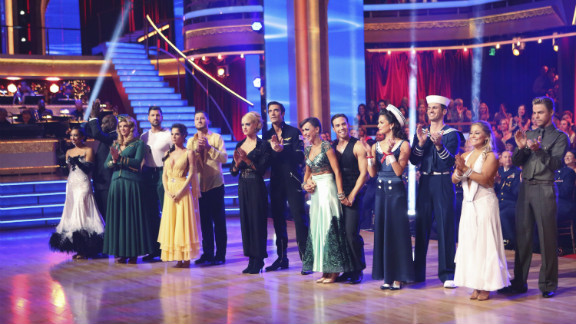 "Since 2005, ABC's ""Dancing with the Stars"" has awarded the best celebrity ballroom dancer of the season with a mirror ball trophy. Kelly Monaco, Drew Lachey and J.R. Martinez are among the winners. Melissa Rycroft won the latest season, where she faced off with former contestants on ""DWTS: All-Stars."""