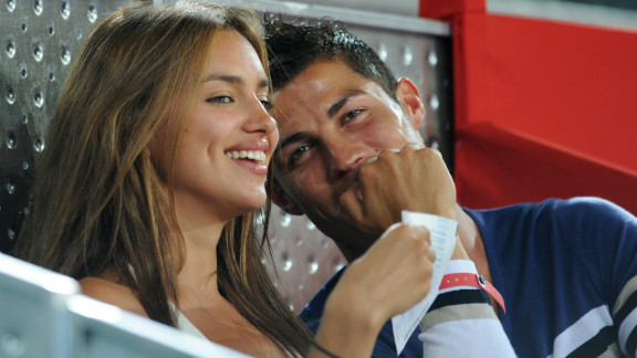"""We are just partners,"" Ronaldo told CNN when asked about his relationship with Shayk. ""We have a good relationship, we are almost three years together, I love to be with her, I love her. It"